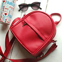 Мини-рюкзак 17х20х7см, красный