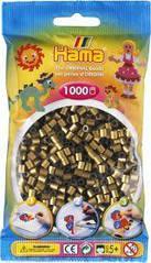 Намистини для термомозаики під бронзу 1000 шт 5мм Hama 207-63