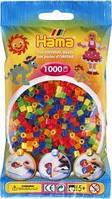 Намистини для термомозаики 1000 шт 6 неонових кольорів 5мм Hama 207-51