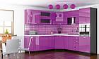 Навісна шафа в кухню з ДСП i МДФ 30В Гамма глянець Мебель Сервіс, фото 5