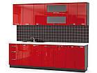 Навісна шафа в кухню з ДСП i МДФ 30В Гамма глянець Мебель Сервіс, фото 6