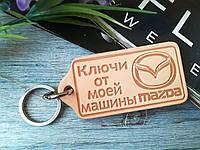 Ключи от моей машины Мазда