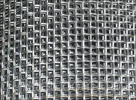 Тканая стальная сетка, 0,5-0,25 мм