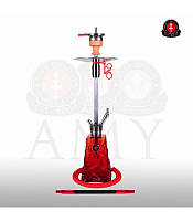 Кальян Amy Deluxe SS 18 Crystalica Красный, фото 1