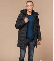 Куртка зимняя молодежная Braggart Youth серого цвета топ реплика
