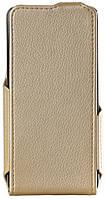 Чохол для смартфона Red Point ERGO B504/505/ Bravis 509 - Flip case (Золотистий)
