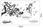 Интерьерная наклейка - Бонсай  (122х77см)  , фото 3