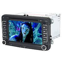 ➀Автомагнитола 7 дюймов 7700 штатная для Volkswagen Skoda 2 Din USB пульт ДУ Bluetooth GPS Windows CE с DVD*