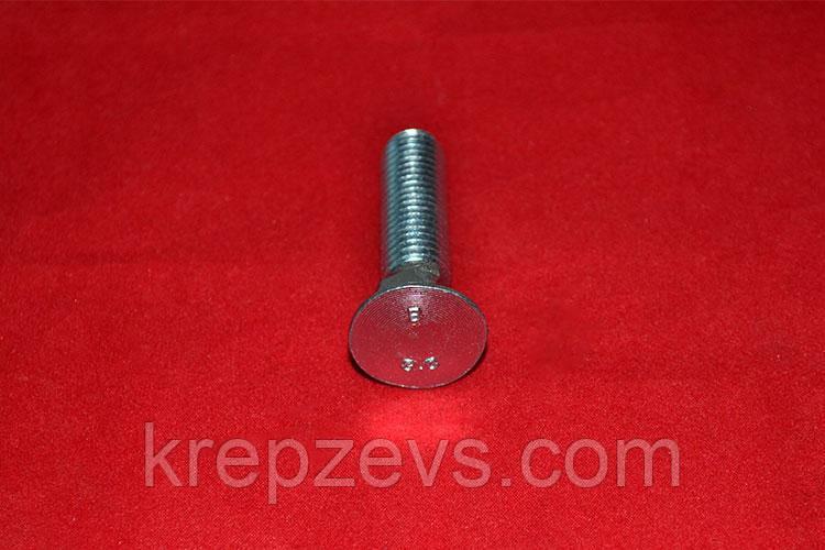 Болт М10 ГОСТ 7786-81 оцинкованный