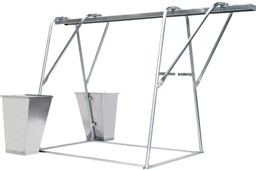 Підйомник вантажний будівельний ПГС-1,0 (рама без талі)
