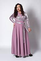 Платье мод №577-4, размер 52,54,56 фрезия