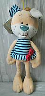 М'яка іграшка песик Жюлі 47 см Мягкая игрушка собачка Жюли