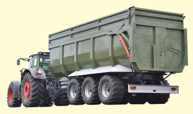 Тракторний причіп ТСП-39 «ВАГОВОЗ» вантажопідйомність 30,5 т , об'єм до 39 м3