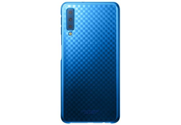 Чехол до телефону Samsung A7 Gradation Cover Blue EF-AA750CLEGRU