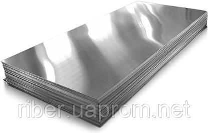 Лист AISI 201(12Х15Г9НД) 0,5х1000х2000, ВА/РЕ, фото 2