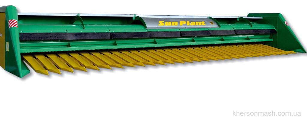 Жатка сплошного среза Sun Plant шириной захвата 7,4 м