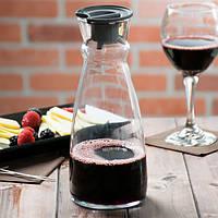 Графин декантер для вина стеклянный Arcoroc Fluid 1л с крышкой (L4193)