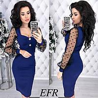 Платье джинсовое в расцветках 35001, фото 1