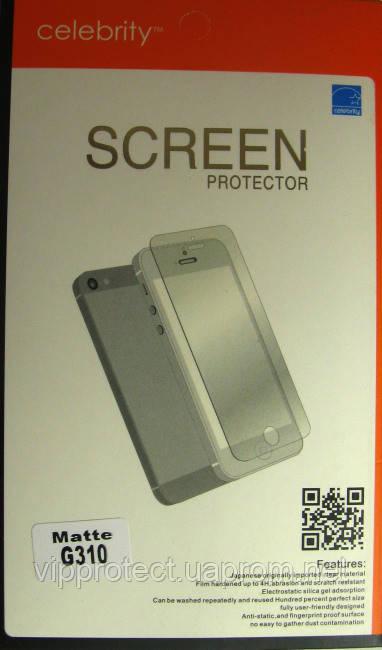 Samsung G310 Galaxy Ace Style, матовая защитная пленка