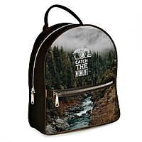 Городской рюкзак Travel 30х28х7см кофейный