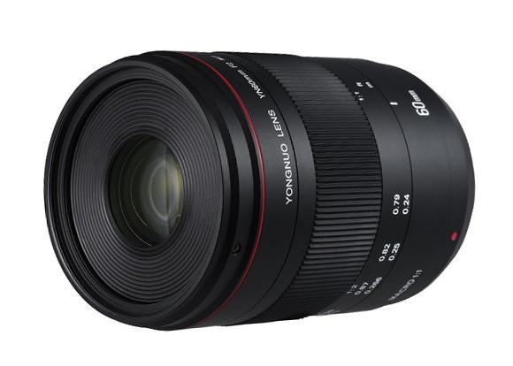 Объектив YONGNUO YN 60mm F/2.0C MF Macro для Canon