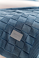 Плед 130x170 PAVIA COLM BLUE(MAVI) синій, фото 3
