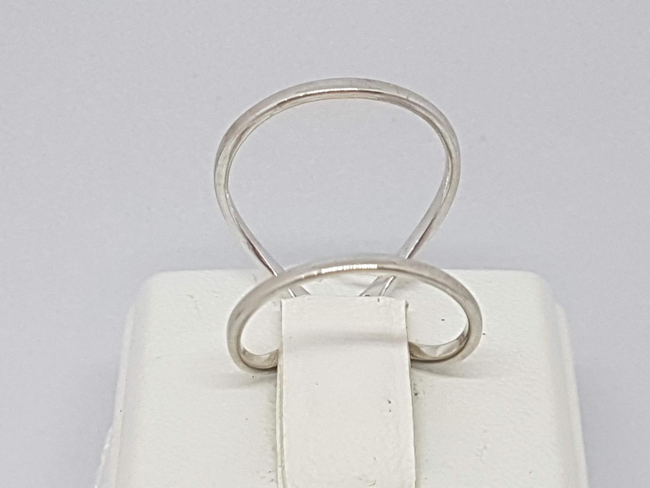 Серебряное кольцо. Артикул 300414C