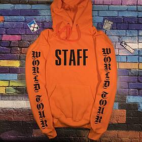 Худи Purpose The World Tour STAFF Живые фото