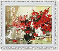 Репродукция  современной картины  «Белое, красное, чёрное»