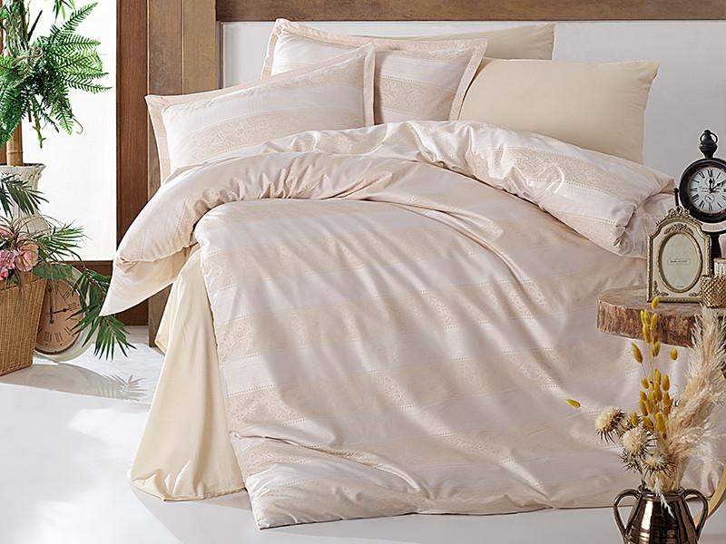 Комплект постельного белья Clasy Satin Jacquard Patara V2 200х220