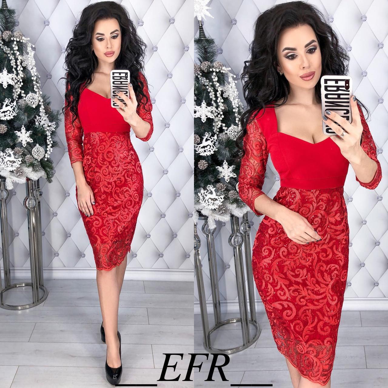 Платье гипюровое в расцветках 35005  Интернет-магазин модной женской одежды  оптом и в розницу . Самые низкие цены в Украине. платья женские от