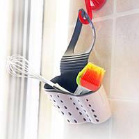 Подвесной органайзер для кухонных принадлежностей (Белый), фото 1