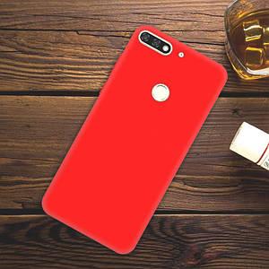 """Чехол Style для Honor 7C Pro 5.99"""" Бампер силиконовый красный"""