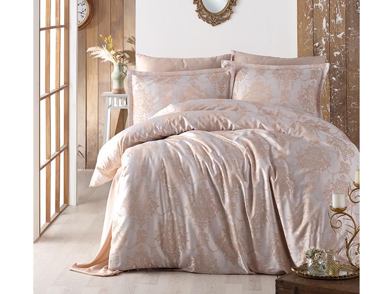 Комплект постельного белья Clasy Satin Jacquard Calista V1 200х220