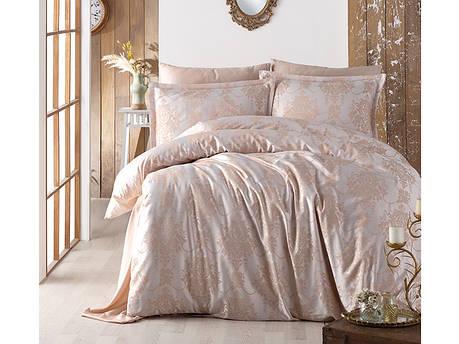 Комплект постельного белья Clasy Satin Jacquard Calista V1 200х220, фото 2