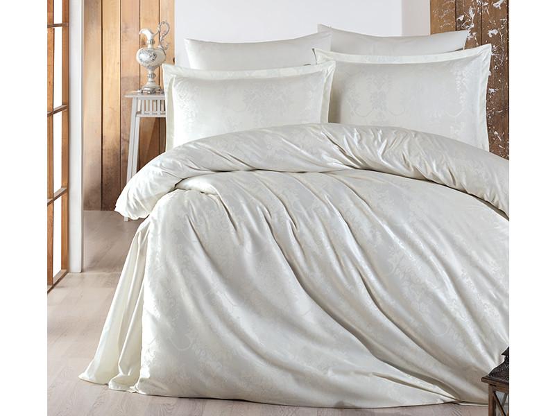 Комплект постельного белья Clasy Satin Jacquard Calista V2 200х220