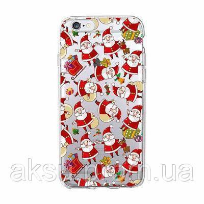 Чехолнакладка xCaseнаiPhone 6/6s New Year №3