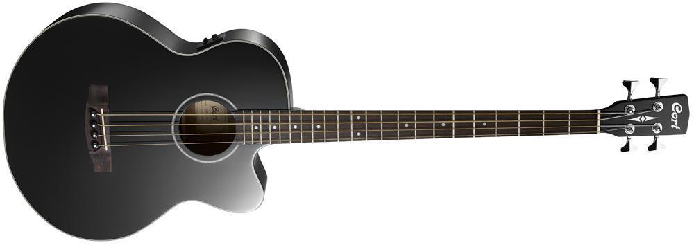 Акустична бас-гітара CORT AB850F (BK) w/bag