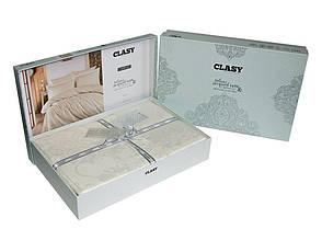 Комплект постельного белья Clasy Satin Jacquard Calista V2 200х220, фото 3