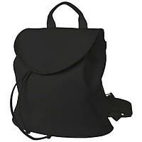 Рюкзак  женский  25х25х7см серый