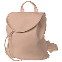 Рюкзак  женский  25х25х7см бежевый