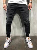 Мужские стильные джинсы 2Y Premium (black)
