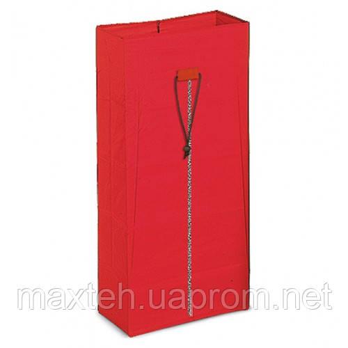 Мешок с молнией красный 120л Италия