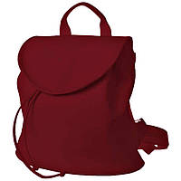 Рюкзак  женский  25х25х7см бордовый
