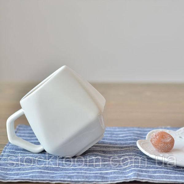 Керамическая чашка Ромб