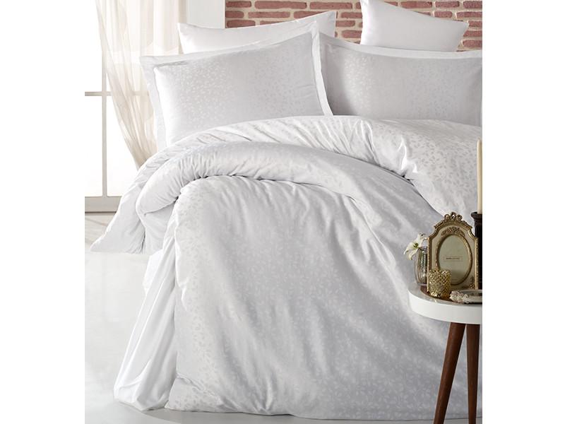 Комплект постельного белья Clasy Satin Jacquard Adenya V1 200х220