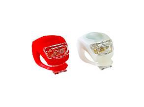 Велосипедные силиконовые фонари LED Light Set 2 шт (1405)