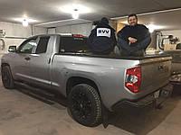 Трёхсекционная складная крышка багажника кузова для пикапа. Крышка кузова Тойота Тундра пикапа BVV