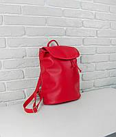 Рюкзак  женский 35х28х15см красный