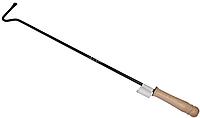 Кочерга для котла с деревянной ручкой 0,6м